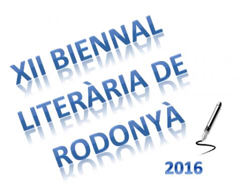 XII Biennal literària - Rodonyà